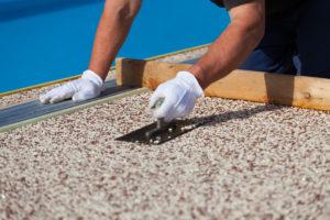 Marmor-Steinteppich